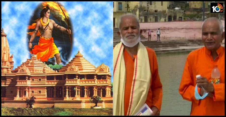 two-up-brothers-who-have-collected-water-from-more-than-150-rivers-have-reached-ayodhya-for-foundation-laying-ceremony-of-ramtemple