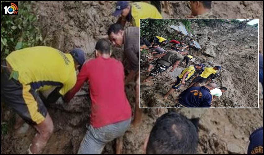 uttarakhand-pithoragarh-a-team-of-state-disaster-response-force-is-conducting-a-search-operation