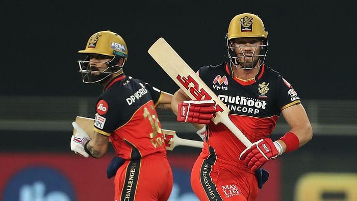 IPL 2020 : RCB set Target to Sun Risers Hyderabad 164 runs