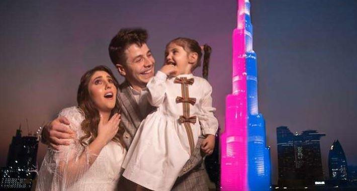 Dubai couple hosts gender reveal on Burj Khalifa, video breaks the internet