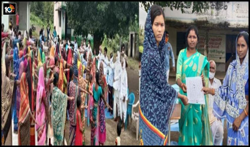 dasnapur-prohibition-of-alcohol-in-the-womens-including-villagers-resolution-in-adilabad-dt-telangana