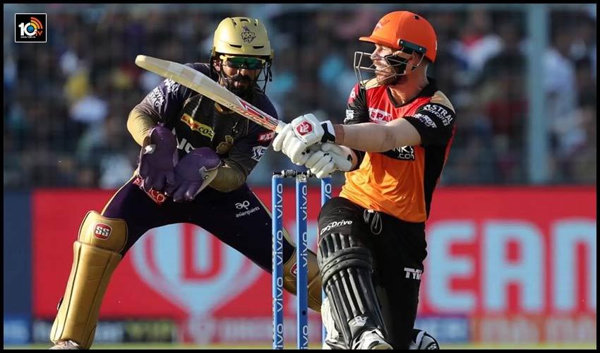 IPL 2020: హైదరాబాద్ బ్యాటింగ్.. 3మార్పులతో సన్రైజర్స్
