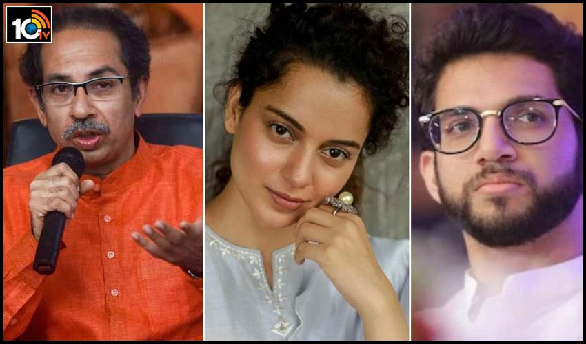 kangana-ranaut-takes-a-dig-at-maha-cm-uddhav-thackeray-his-son-aditya-thackeray-says-lets-see-who-fixes-who