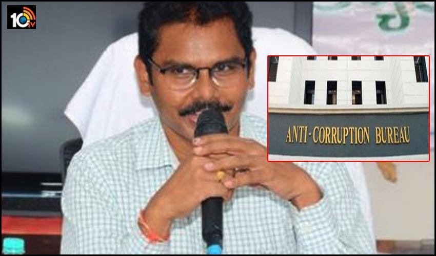 rs-one-crore-12-lakh-crore-bribery-case-acb-searches-at-medak-collector-residence