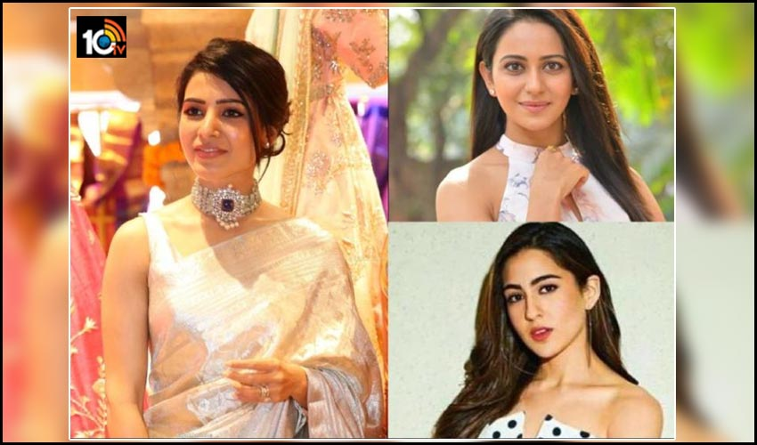 samantha-akkineni-supports-to-sara-ali-khan-and-rakul-preet-singh