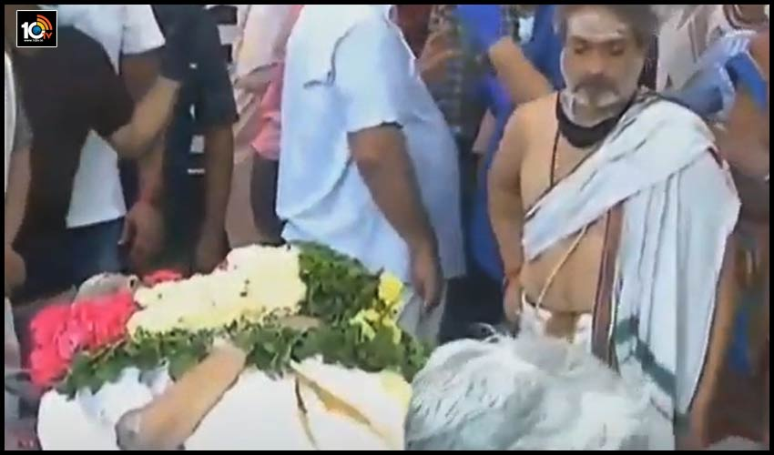 #spbalasubrahmanyam ఇక సెలవు, బాలుకు కన్నీటి వీడ్కోలు