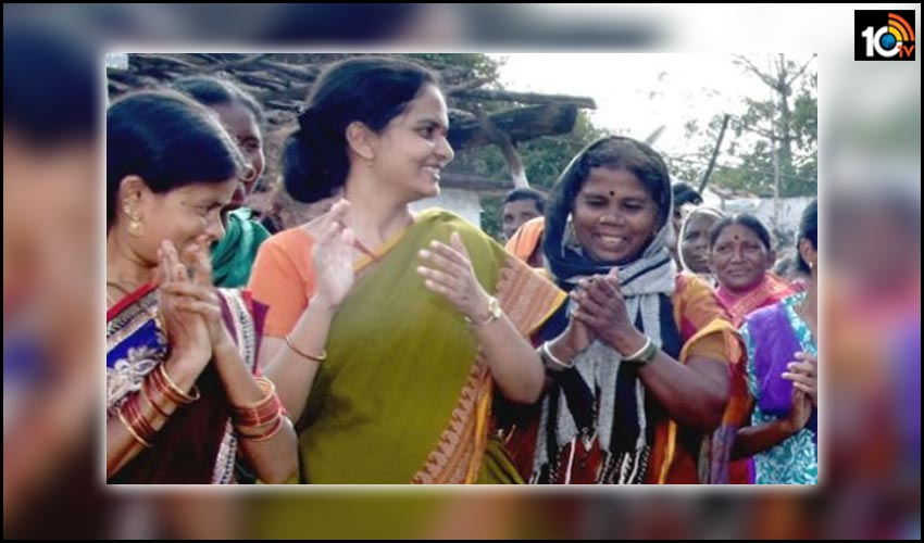 this-dynamic-ias-women-officer-has-a-village-named-in-her-honour-in-adilabad-dt