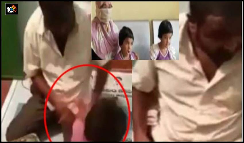 vikarabad-father-tortures-four-year-old-daughter-spits-on-her-face-in-telangana