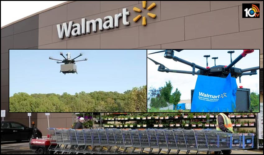 walmart drone delivery service announced for grocery and household products in the expand delivery options 1