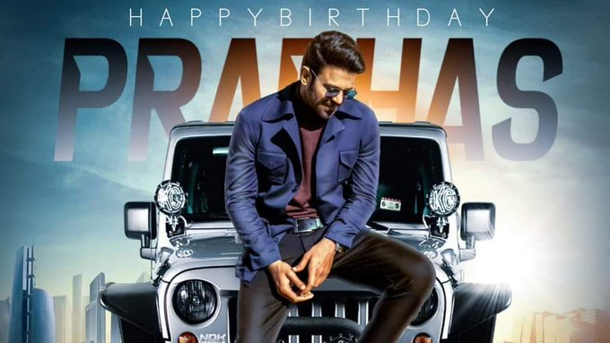 Celebreties Birthday wishes to Prabhas