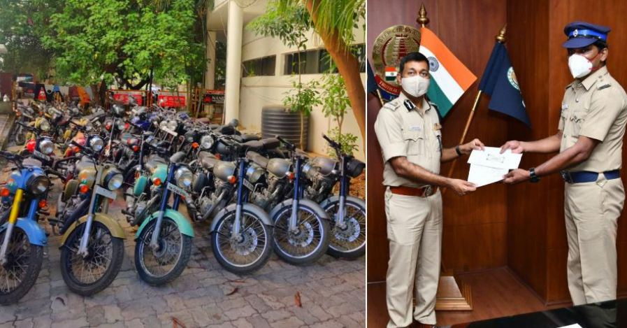 Police constable single-handedly busts bike thieves