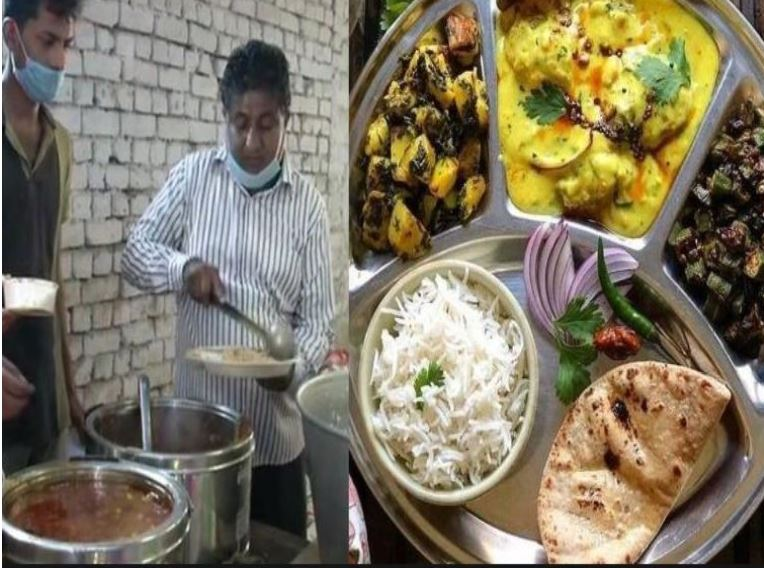 Delhi : COVID-19 'Shyam Rasoi' eatery complete thali for just Rs.1 Rupee