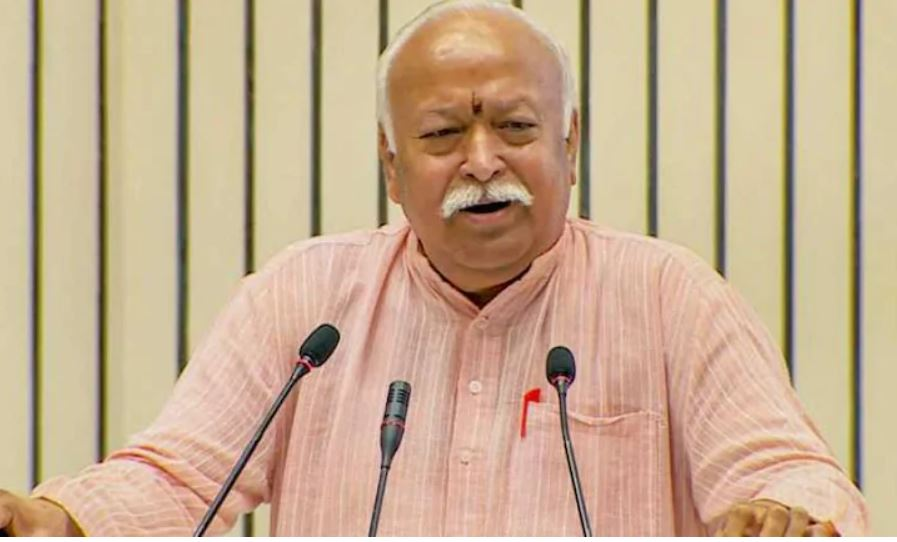 Indian Muslims most content in world, accept the superiority of Hindus to stay here: RSS chief Bhagwat