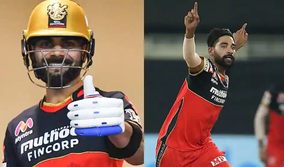 Mohammed Siraj reveals what Virat Kohli told him before giving the new ball