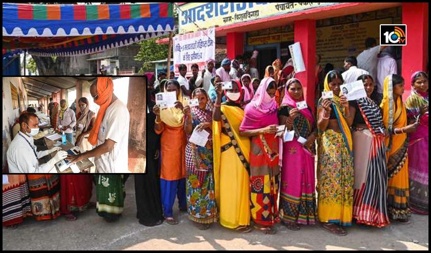 బీహార్ ఎన్నికలు…ముగిసిన మొదటి దశ పోలింగ్
