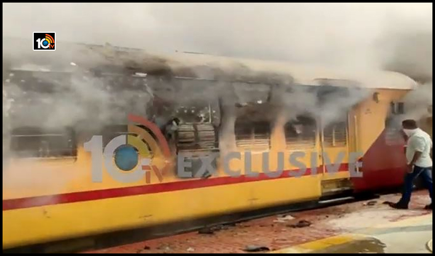 fire-accident-in-medchal-railway-station
