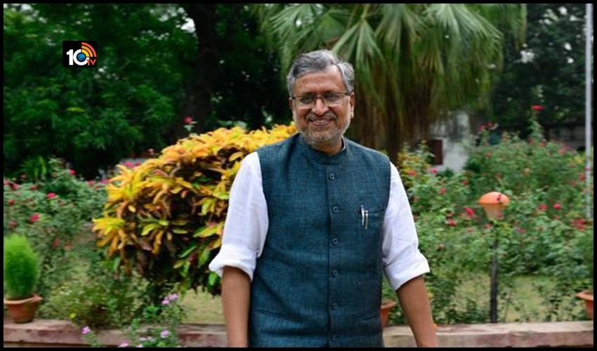 రాజ్యసభకు బీహార్ మాజీ డిప్యూటీ సీఎం సుశీల్ మోడీ