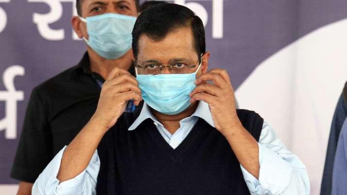 kejriwal mask