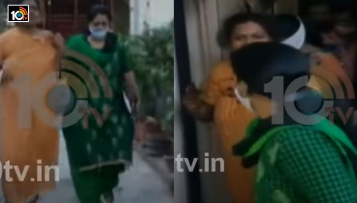 wife caught husband