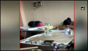 poling-officers-sleeping-at-booths