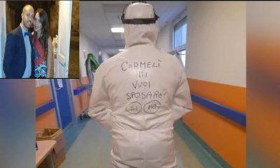 Italian nurse To Girlfriend Wearing PPE Kit