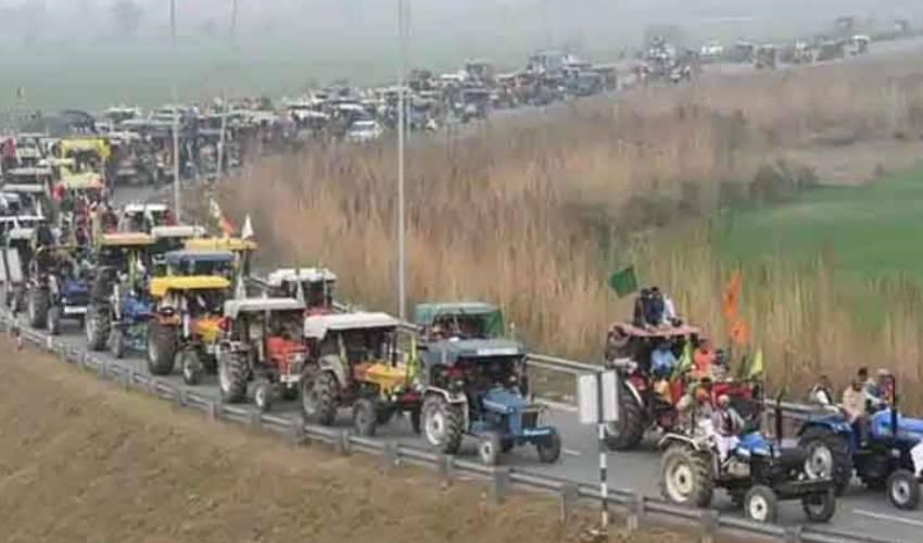 Delhi Police Permission for farmers' tractor rally on Republic Day