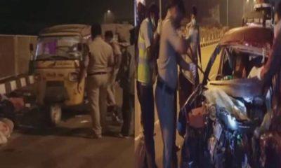 prakasam Road Accident