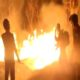 Fire accident in Amrabad forest area of Nagarkurnool