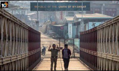 Fleeing Coup Myanmar Police Refugees In India Seek Asylum1