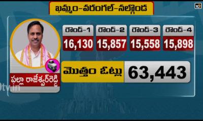 Nalgonda Warangal Khammam Graduates Mlc Election Fourth Round Vote Counting Results1