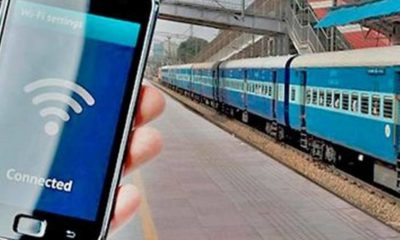 Prepaid WiFi services launched at 4000 railway stations