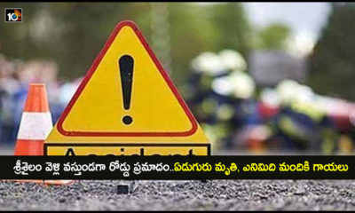Seven Killed In Road Accident At Nellore District