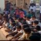 Children dharna not to transfer teacher