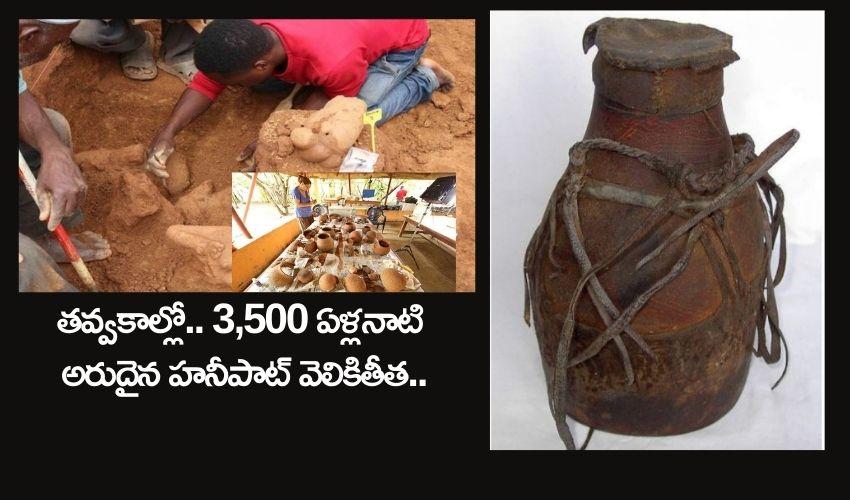 3500 Years Old Honey Pot