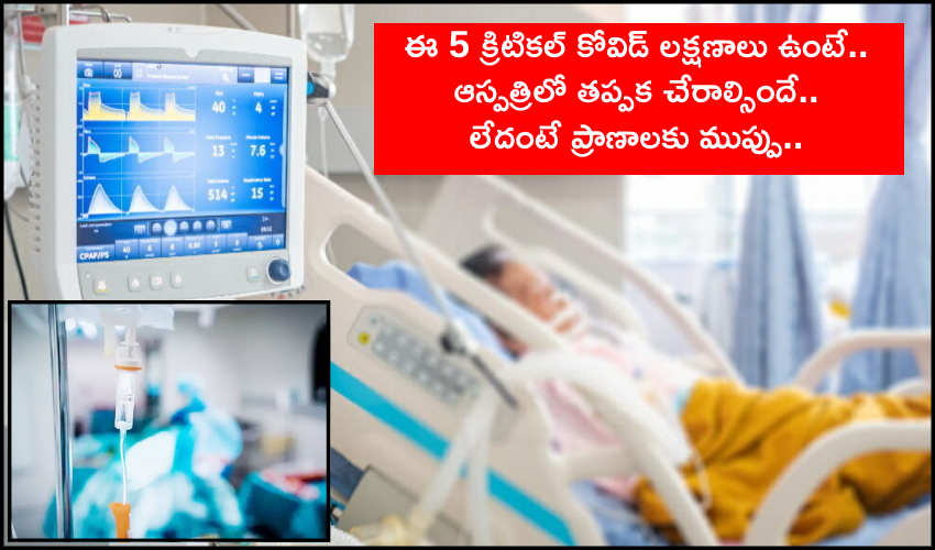 5 Critical Covid Signs And Symptoms That Demand Hospitalization (1)