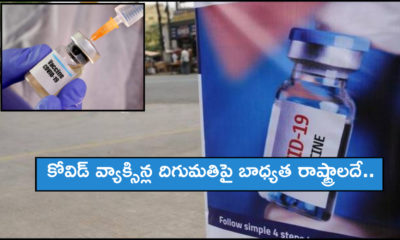 Centre May Put Onus On States To Import Covid 19 Vaccines