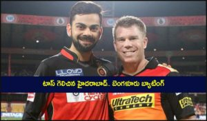 Hyderabad Vs Bangalore, 6th Match