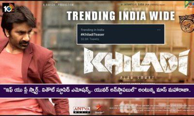 Khiladi Movie Teaser