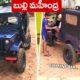 Miniature Replica Of Mahindra Jeep