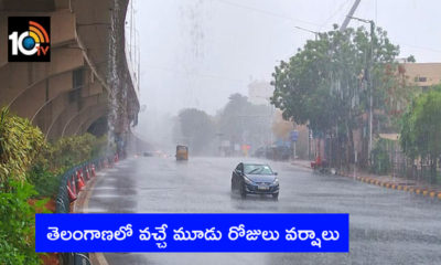 Rains In Telangana