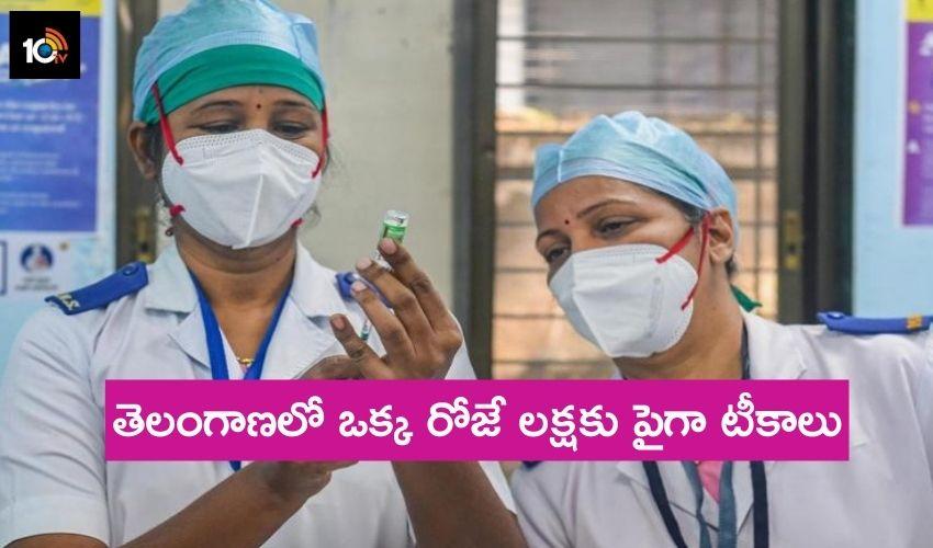 Telangana Vaccination