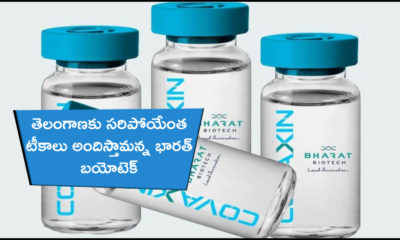 Will Give More Than Enough Vaccines For Telangana, Says Bharth Biotech