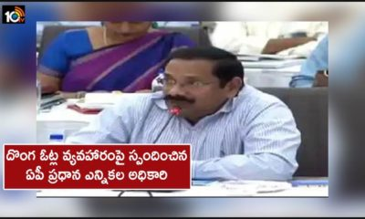 Ap Chief Electoral Officer Responds On Fake Votes