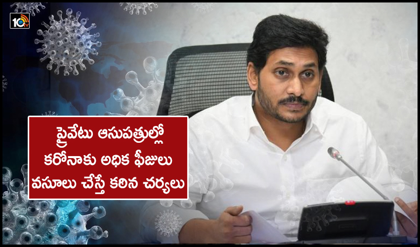 Cm Jagan Review On Corona Outbreak Vaccination