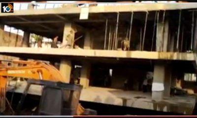 Demolition Of Tdp Leader Palla Srinivasa Rao Shopping Complex