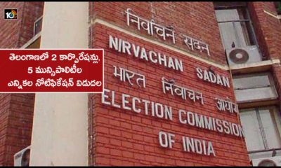 Election Notification Issued For 2 Corporations And 5 Municipalities In Telangana