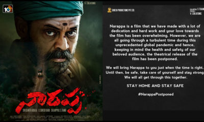 Narappa Will Not Be Releasing On May 14th Says Producers
