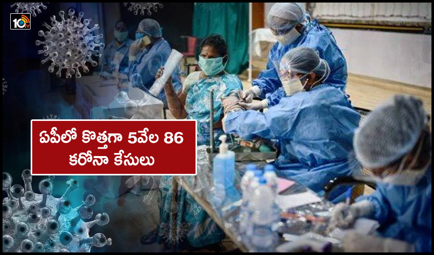 Newly 5086 Corona Cases In Ap