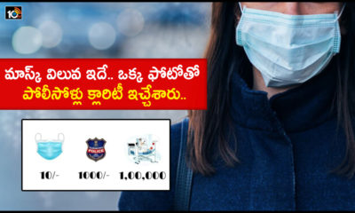 Police Awareness Photo On Wearing Mask