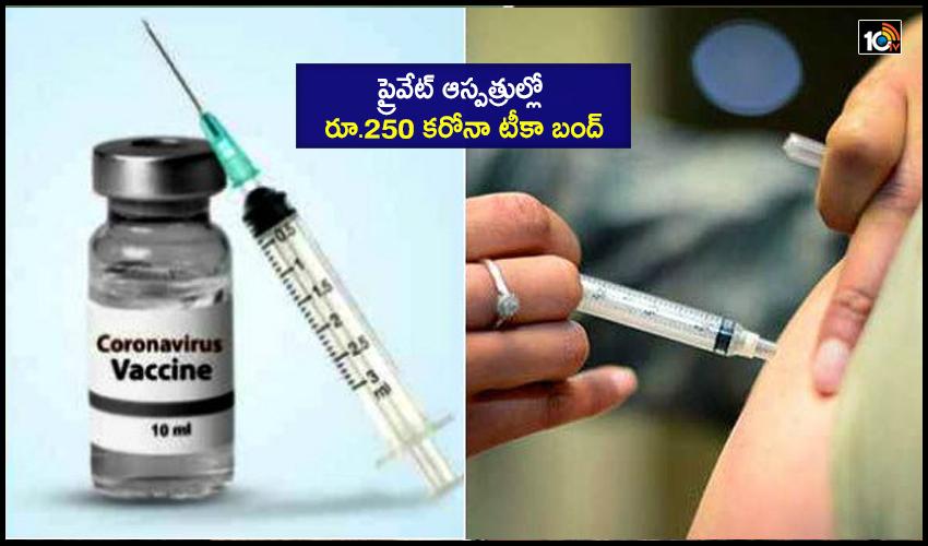 Rs 250 Corona Vaccine Ban In Private Hospitals